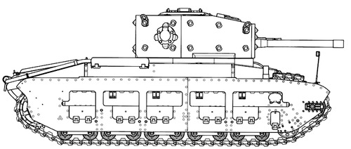 A12 Matilda Mk.III Infantry Tank Mk.IV A27 Turret