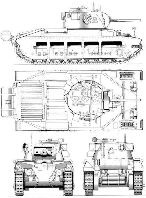 A12 Matilda Mk.IV Infantry Tank Mk.IIA