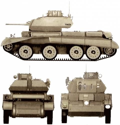 A13 Cruiser Tank Mk. II CT Mk.IV