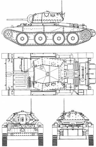 A13 Cruiser Tank Mk III Covenanter I