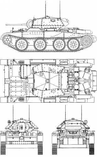 A13 Cruiser Tank Mk III Covenanter III