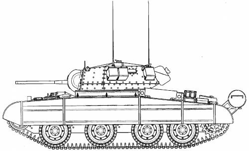 A13 Cruiser Tank Mk III Covenanter IV