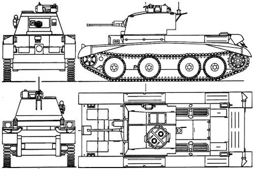 A13 Mk I Cruiser Mk II