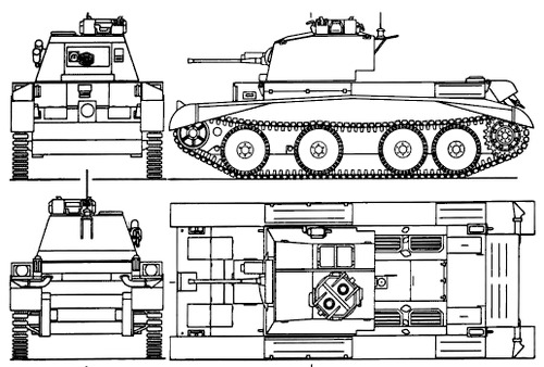 A13 Mk I Cruiser Mk III
