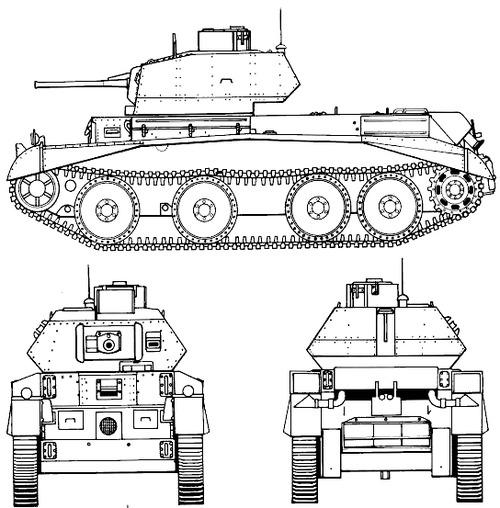 A13 Mk.I Cruiser Tank Mk.III