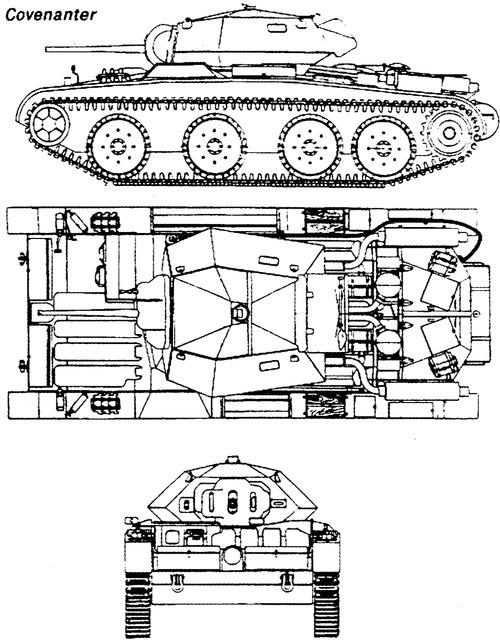 A13 Mk.I Cruiser Tank Mk.III Covenanter