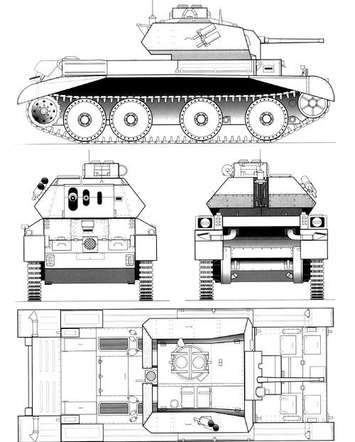 A13 Mk II Cruiser Mk IV