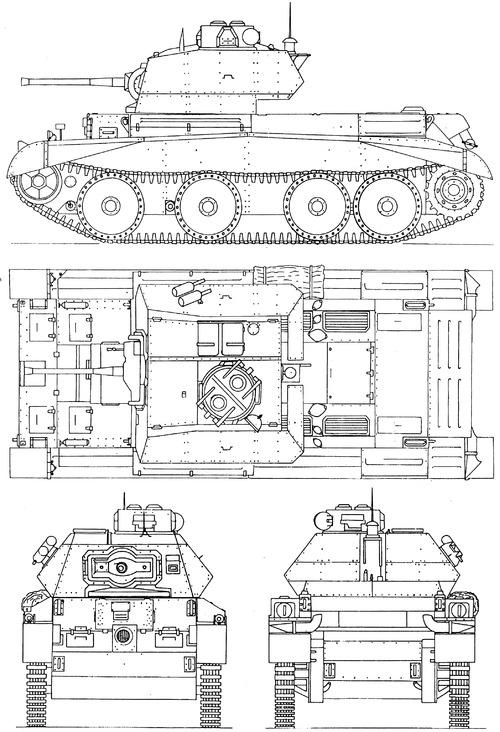 A13 Mk II Cruiser Mk IVA