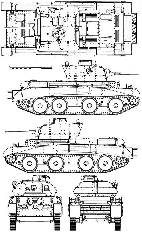 A13 Mk.II Cruiser Tank Mk.IV