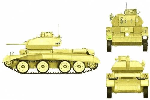 A13 Mk.II Cruiserr Tank Mk.IV