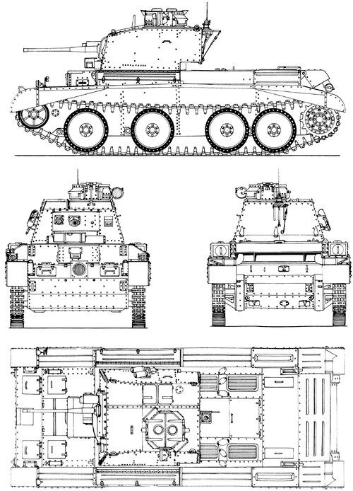 A13 Mk.IIA Cruiser Tank Mk.IV