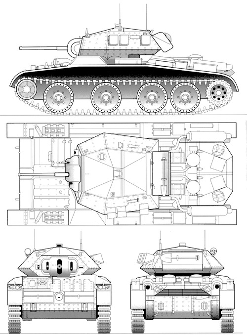 A13 Mk III Cruiser Tank Mk V Covenanter III