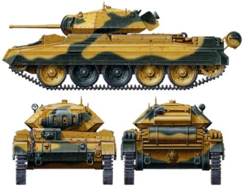 A15 Crusader Mk.I Cruiser tank Mk VI