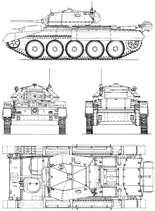 A15 Crusader Mk.I Cruiser tank Mk.VI