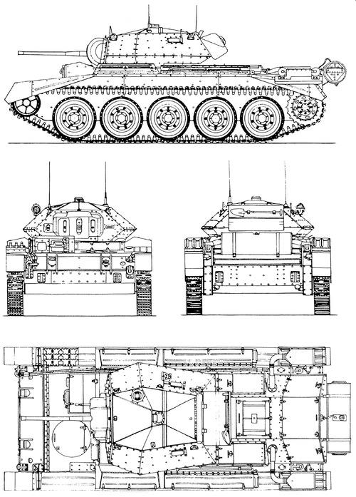 A15 Crusader Mk.II Cruiser tank Mk.VI