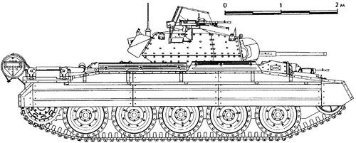 A15 Crusader Mk.II Cruiser tank Mk VIA
