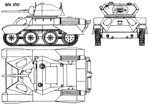 A25 Harry Hopkins Vickers Light Tank Mk VIII