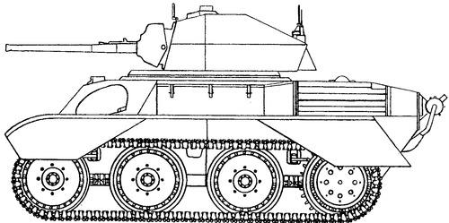 A25 Harry Hopkins Vickers Light Tank Mk VIII