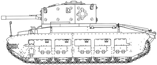 A27 Matilda Mk.III Infantry Tank Mark II