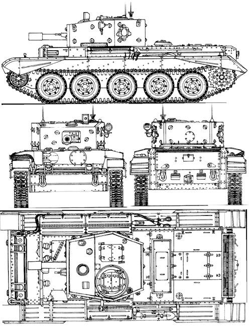 A27L Centaur Mk.IVD CS 1944