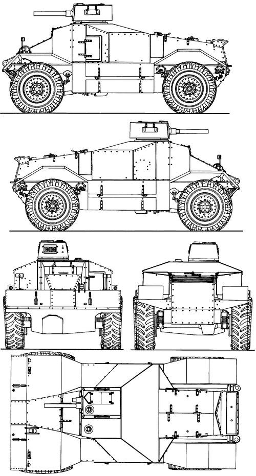 AEC Armoured Car Basilisk