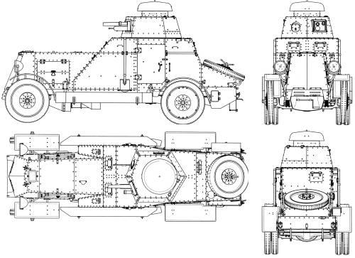 BA-27 Armored Car (1930)