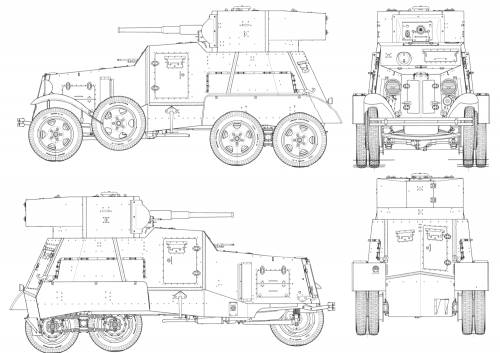 BA-3 Armored Car