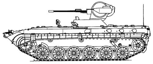 BMP-1 2A28