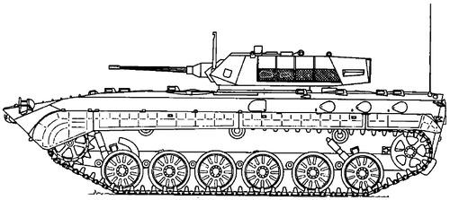 BMP-1 Deloco 25mm