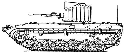 BMP-1 ZU-23-2