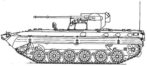 BMP-1M Shkval