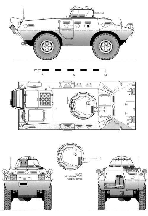 Cadillac-Gage V-100 Commando XM706 (1965)