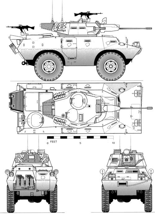 Cadillac-Gage V-150 Commando 20mm (1972)