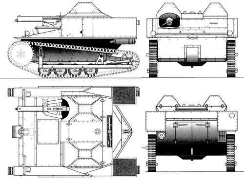Carden-Loyd Mk.VI closed