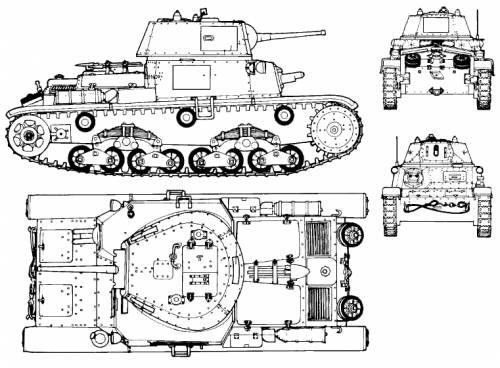 Carro Armato Fiat Ansaldo M13-40