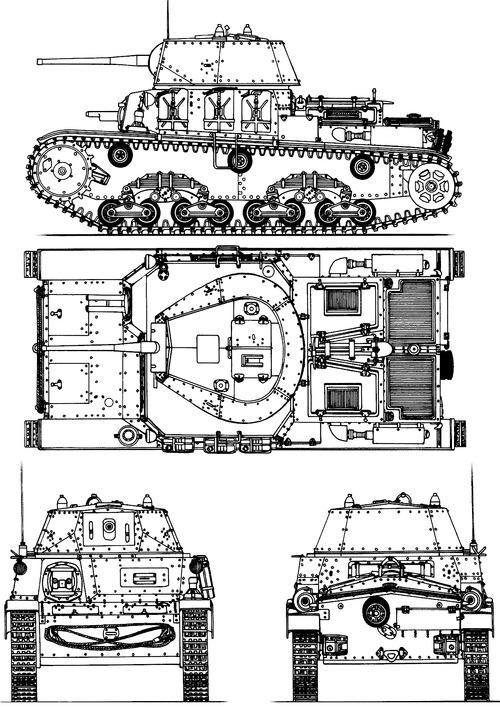 Carro Armato M15-42