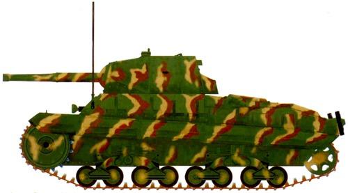 Carro Armato P40 (Panzerkampfwagen P40 737) (1944)