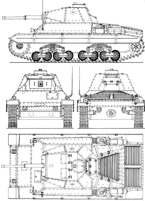 Carro Armato P43 Pesante