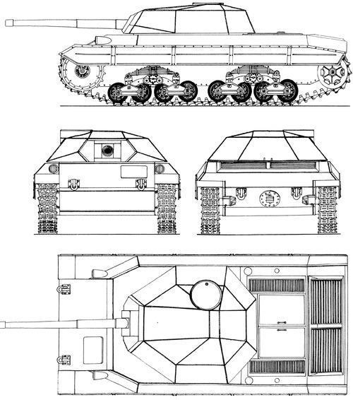Carro Armato P43 Pesante bis