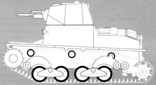 Carro Cannone 37mm