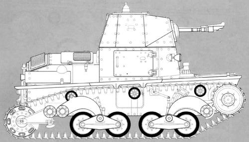 Carro Cannone L6-40