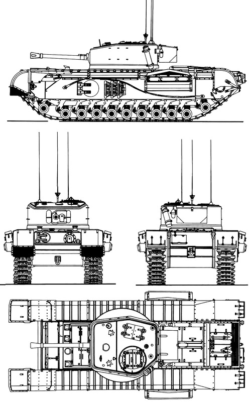 Churchill Mk.VII A22 Infantry Tank Mk.IV