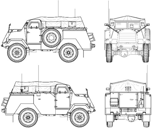 CMP Chevrolet C15TA Armoured Truck