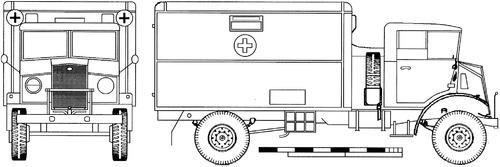 CMP Ford F602L 3ton 4x2 Ambulance