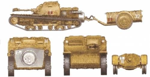 CV-35 Lanciaflamme