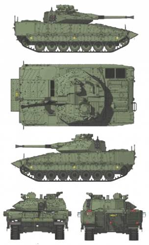 CV-90-40C IFV