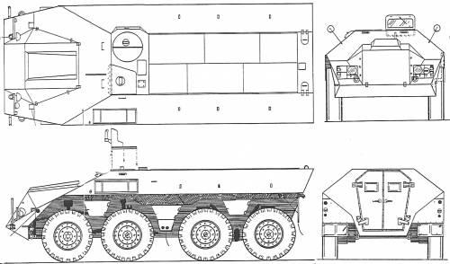 DAF YP-408 6x8