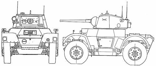 Daimler Armored Car Mk. I