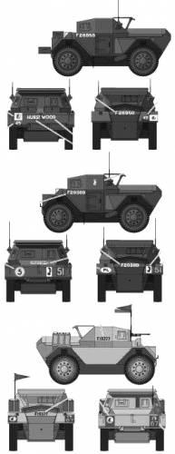 Daimler Dingo Mk II Scout Car