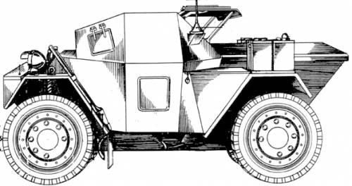 Daimler Dingo Scout Mk. II (1942)